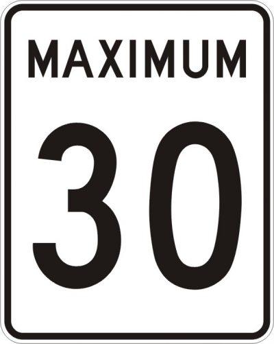 Limite de vitesse